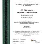 EB Electronic - ISO Zertifikat